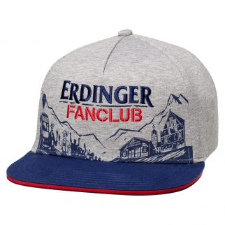 Erdinger Fanclub_0204965_Cap Grau Melange_a
