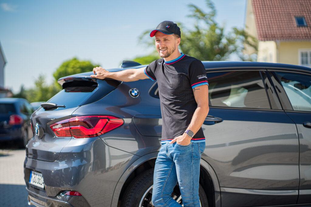 BMW Berufsausbildung Cap und T-Shirt