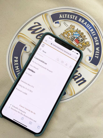 Weihenstephaner NFC Chip
